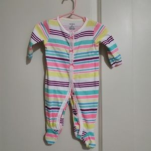 Carter's footed onesie